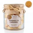 Whiskey-Karamela, dišeči mini voski v kozarcu