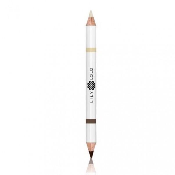 Svinčnik za obrvi 2v1 (srednji odtenek)